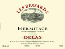 Delas, Hermitage les Bessards 2014 Hermitage