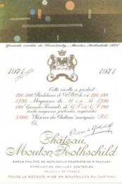 Chateau Mouton Rothschild 1971 Pauillac