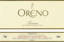 Tenuta Sette Ponti, Oreno 2015 Tuscany