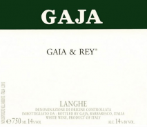 Gaja Gaia & Rey Chardonnay 2016 Langhe
