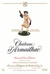 Chateau d'Armailhac 2017 Pauillac