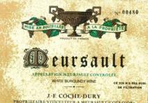 Domaine Coche-Dury Meursault 2015 Cote de Beaune