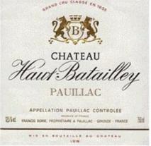 Chateau Haut Batailley 2017 Pauillac