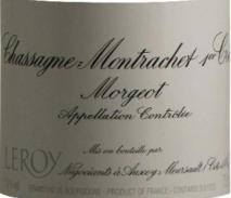 Maison Leroy Chassagne Montrachet 1er Cru Morgeot 2013 Cote de Beaune