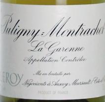 Maison Leroy Puligny Montrachet 1er Cru La Garenne 2011 Cote de Beaune