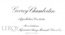 Maison Leroy Gevrey Chambertin 2015 Cote de Nuits