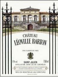 Chateau Leoville Barton 2017 St Julien