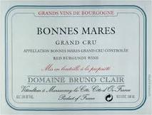 Domaine Bruno Clair, Bonnes-Mares Grand Cru 2013 Cote de Nuits