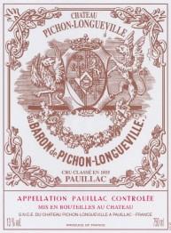 Chateau Pichon Longueville Baron 2017 Pauillac