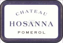 Chateau Hosanna 2017 Pomerol