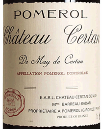 Chateau Certan De May 2017 Pomerol