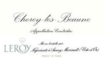 Maison Leroy Chorey Les Beaune 2012 Cote de Beaune