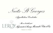 Maison Leroy Nuits Saint Georges 2010 Cote de Nuits