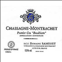 "Domaine Ramonet Chassagne-Montrachet ""Boudriotte"" 1er Cru White 2015 Chassagne-Montrachet 1er Cru"