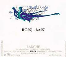 Gaia Chardonnay Rossj & Bass 2011 Piedmont