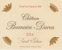 Chateau Branaire Ducru 2014 St Julien