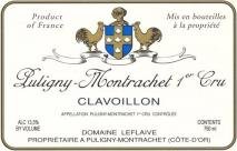 Domaine Leflaive, Puligny Montrachet 1er Cru Clavoillon 2016 Puligny Montrachet