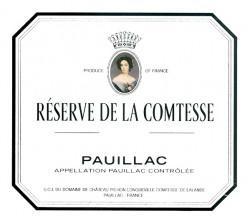 Chateau Pichon Lalande- La Reserve de La Comtesse 2017 Pauillac