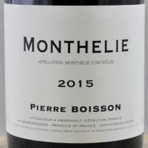Domaine Pierre Boisson Monthelie 2015 Cote de Beaune