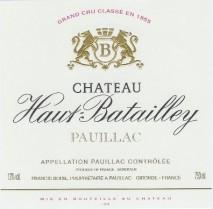 Chateau Haut Batailley 2002 Pauillac