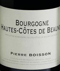 Domaine Pierre Boisson, Bourgogne Hautes Cotes de Beaune 2016 Bourgogne