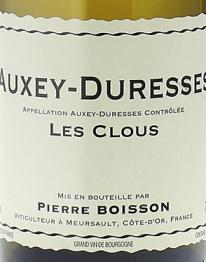 Domaine Pierre Boisson, Auxey Duresses Les Clous Blanc 2016 Cote de Beaune