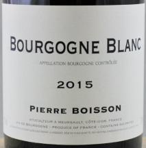 Domaine Pierre Boisson, Bourgogne Blanc 2016 Cote de Beaune