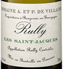 Domaine A et P Villaine, Rully Les Saint-Jacques 2015 Cote de Chalonnaise