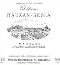 Chateau Rauzan Segla 2017 Margaux