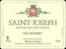 Domaine Pierre Gonon, Saint Joseph Les Oliviers 2015 Saint Joseph