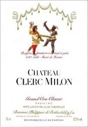 Chateau  Clerc Milon 2017 Pauillac