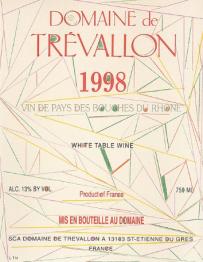 Domaine de Trevallon 1998 IGP Alpilles