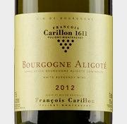 Domaine Francois Carillon, Bourgogne Aligote 2012 Bourgogne