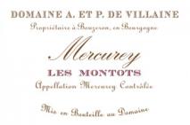 Domaine A.& P. de Villaine,  Mercurey Les Montots 2015 Cote de Beaune