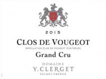 Domaine Yvon Clerget Clos de Vougeot Grand Cru 2017 Cote de Nuits