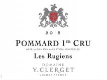 Domaine Yvon Clerget Pommard 1er Cru Les Rugiens 2017 Cote de Beaune