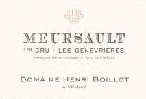Domaine Henri Boillot Meursault 1er Cru Les Genevrieres 2017 Cote de Beaune