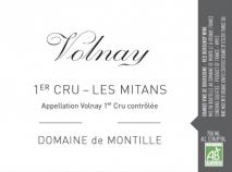 Domaine de Montille, Volnay 1er Cru Les Mitans 2017 Cote de Beaune