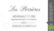 Domaine de Montille, Meursault 1er Perrieres 2017 Cote de Beaune