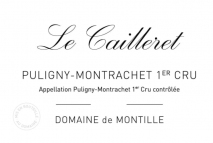 Domaine de Montille, Puligny Montrachet 1er Caillerets 2017 Cote de Beaune