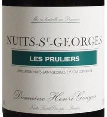 Domaine Henri Gouges Nuits-Saint-Georges 1er Cru, Les Pruliers 2017 Cote de Nuits