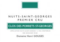 Domaine Henri Gouges Nuits-Saint-Georges 1er Cru, Clos des Porrets 2017 Cote de Nuits