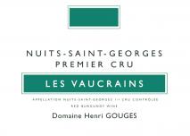 Domaine Henri Gouges Nuits-Saint-Georges 1er Cru, Les Vaucrains 2017 Cote de Nuits
