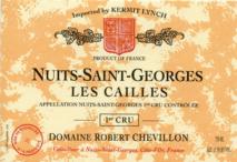 Domaine Robert Chevillon, Nuits-Saint-Georges 1er Cru Les Cailles 2016 Cote de Nuits