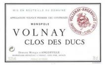 Domaine Marquis d'Angerville, Volnay 1er Cru Clos des Ducs 2010 Cote de Beaune