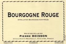 Domaine Pierre Boisson, Bourgogne Rouge 2012 Bourgogne
