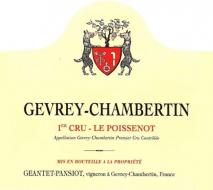 Domaine Geantet-Pansiot, Gevrey-Chambertin 1er Cru Le Poissenot 2015 Cote de Nuits