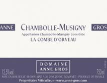 Domaine Anne Gros Chambolle-Musigny La Combe d'Orveau 2014 Cote de Nuits