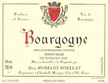 Domaine Hudelot Noellat Bourgogne Pinot Noir 2017 Bourgogne
