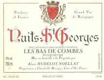 Domaine Hudelot Noellat, Nuits Saint Georges Les Bas de Combes 2017 Cote de Nuits